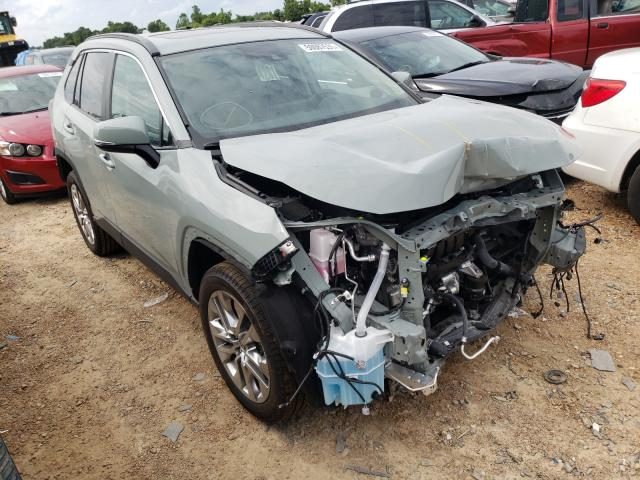 Salvage cars for sale from Copart Bridgeton, MO: 2021 Toyota Rav4 XLE P