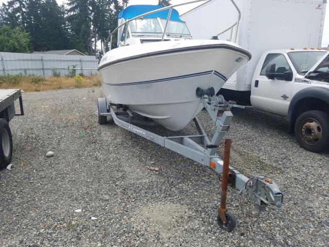 Salvage boats for sale at Graham, WA auction: 1988 Aquasport Boat Trlr