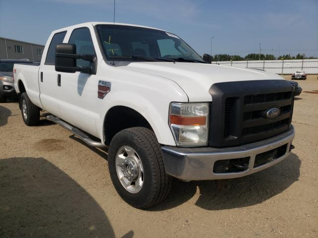 Salvage cars for sale from Copart Nisku, AB: 2010 Ford F350 Super