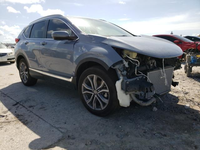 Salvage cars for sale from Copart New Orleans, LA: 2020 Honda CR-V Touring