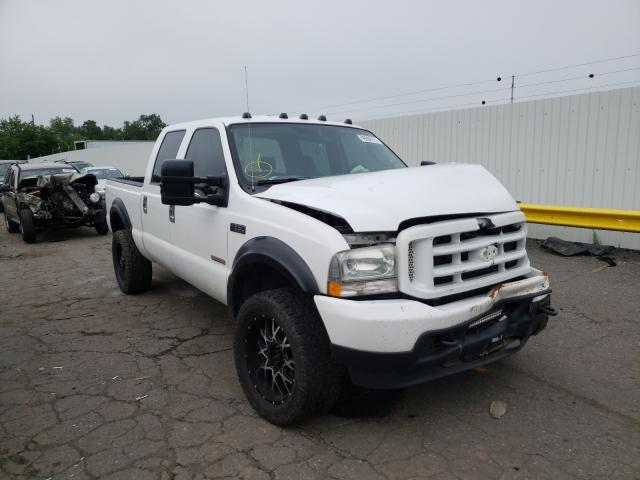Salvage cars for sale from Copart Pennsburg, PA: 2004 Ford F250 Super