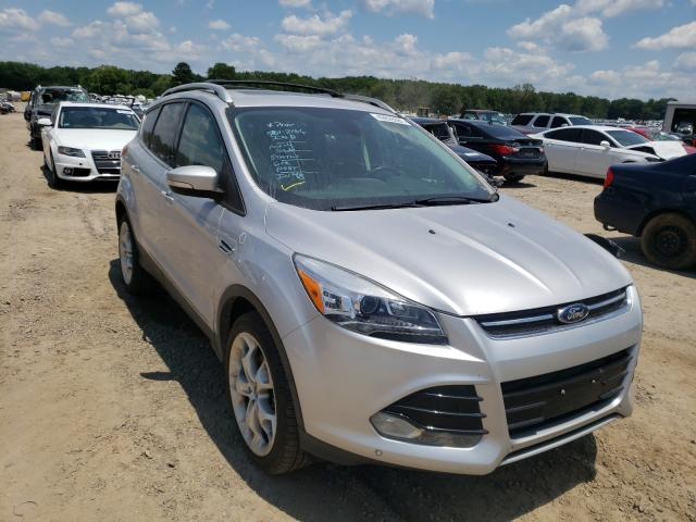 Salvage cars for sale at Conway, AR auction: 2013 Ford Escape Titanium
