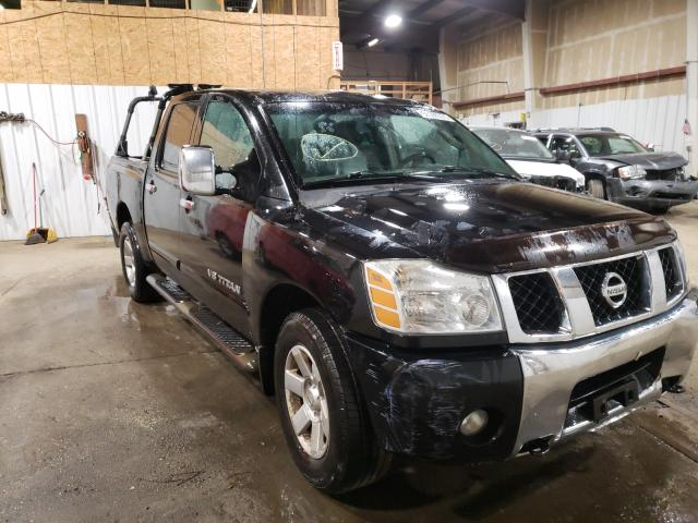 Salvage cars for sale from Copart Anchorage, AK: 2006 Nissan Titan XE