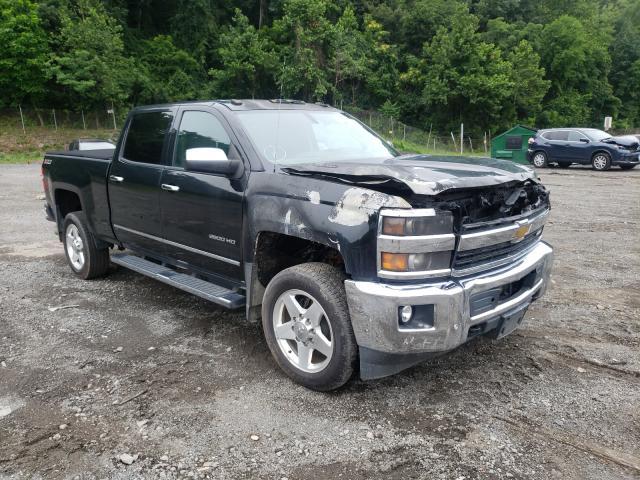 Salvage cars for sale from Copart Marlboro, NY: 2015 Chevrolet Silverado