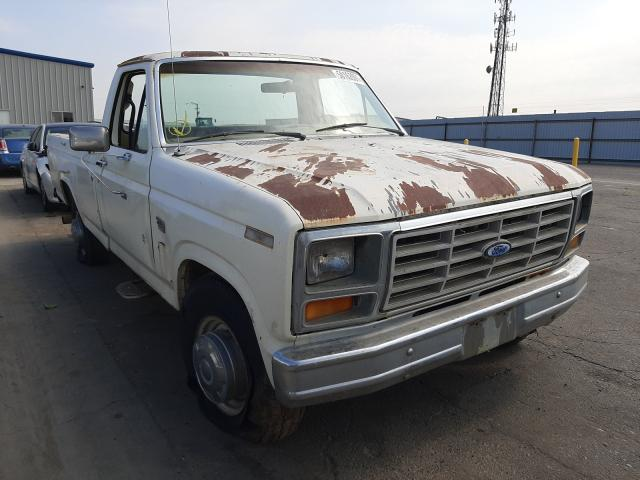 Salvage cars for sale from Copart Fresno, CA: 1986 Ford F250