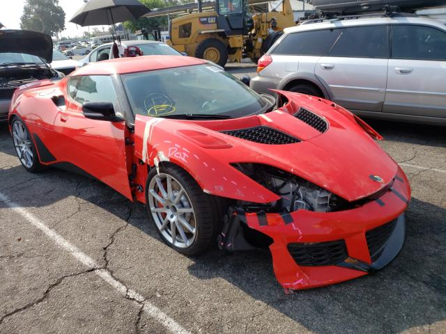 Lotus salvage cars for sale: 2021 Lotus Evora GT