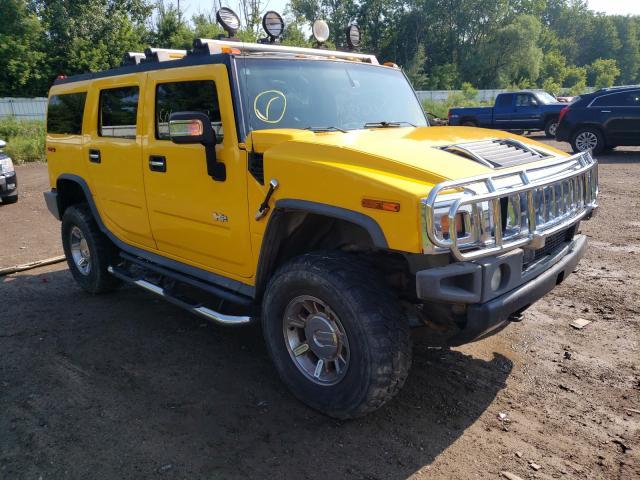 Vehiculos salvage en venta de Copart Davison, MI: 2006 Hummer H2
