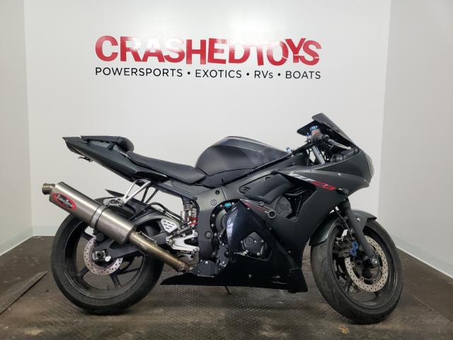 Salvage cars for sale from Copart Ham Lake, MN: 2003 Yamaha YZFR6 L