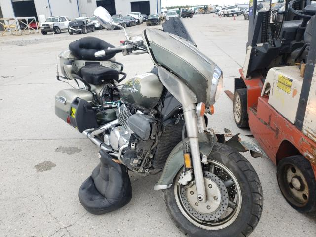 Salvage motorcycles for sale at New Orleans, LA auction: 2001 Yamaha XVZ13 TF