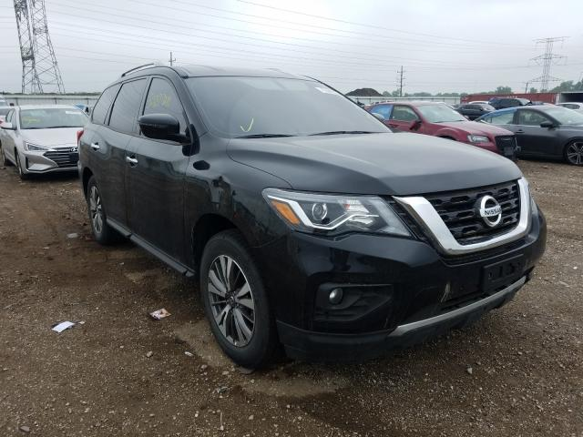 Salvage cars for sale from Copart Elgin, IL: 2020 Nissan Pathfinder