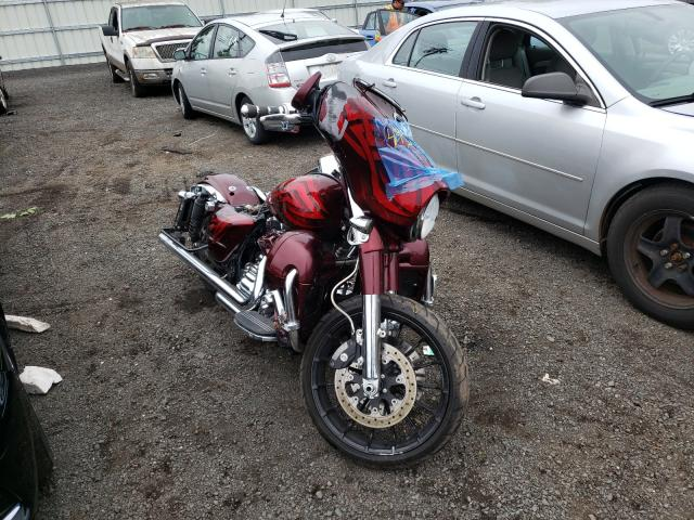 Salvage motorcycles for sale at New Britain, CT auction: 2014 Harley-Davidson Flhxs Street