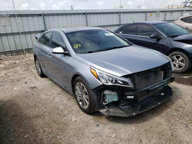 Vehiculos salvage en venta de Copart Mercedes, TX: 2017 Hyundai Sonata Sport