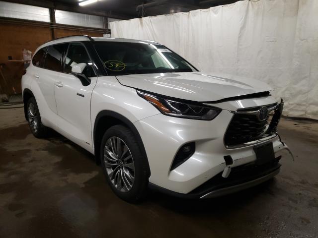 Vehiculos salvage en venta de Copart Ebensburg, PA: 2020 Toyota Highlander