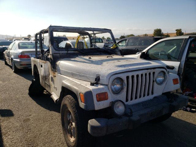 Vehiculos salvage en venta de Copart Martinez, CA: 2000 Jeep Wrangler