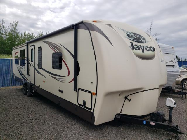 Salvage cars for sale from Copart Atlantic Canada Auction, NB: 2016 Jayco Eagle