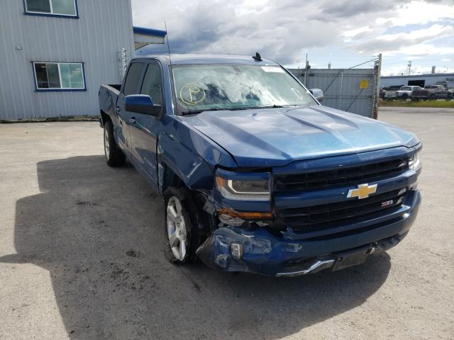 Salvage cars for sale from Copart Anchorage, AK: 2017 Chevrolet Silverado