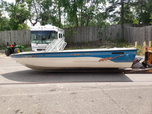 Salvage cars for sale from Copart Ham Lake, MN: 1996 Crestliner Boat
