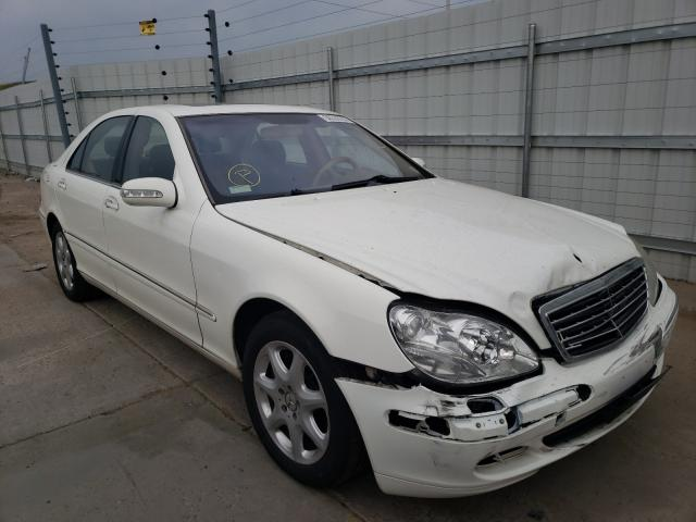 Mercedes-Benz salvage cars for sale: 2003 Mercedes-Benz S 500 4matic