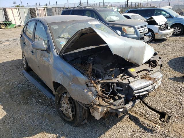 Salvage cars for sale from Copart San Martin, CA: 2010 Hyundai Elantra BL
