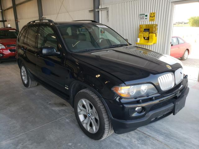 Salvage cars for sale from Copart Greenwood, NE: 2006 BMW X5 4.4I