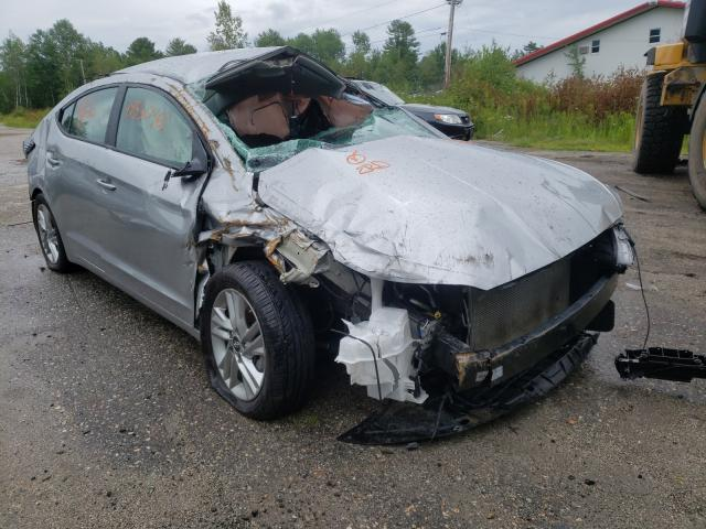 Salvage cars for sale from Copart Lyman, ME: 2020 Hyundai Elantra SE