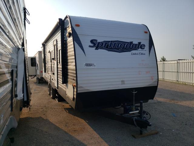 Springdale salvage cars for sale: 2015 Springdale TL