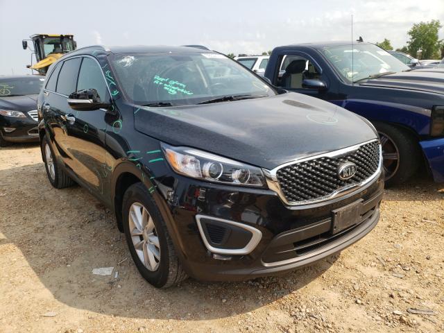 Salvage cars for sale from Copart Bridgeton, MO: 2018 KIA Sorento LX