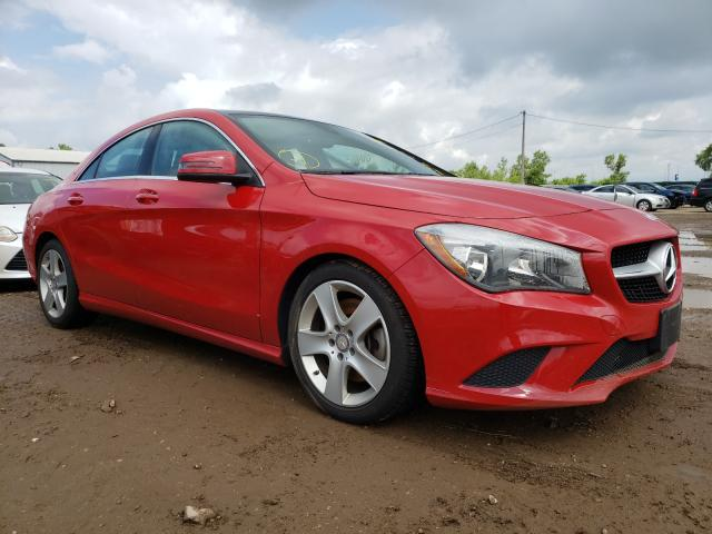 Salvage cars for sale from Copart Pekin, IL: 2016 Mercedes-Benz CLA 250 4M
