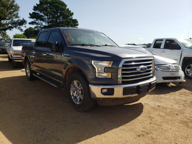 Salvage cars for sale from Copart Longview, TX: 2016 Ford F150 Super