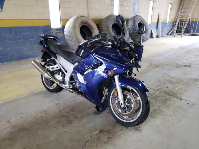 Salvage cars for sale from Copart Indianapolis, IN: 2005 Yamaha FJR1300