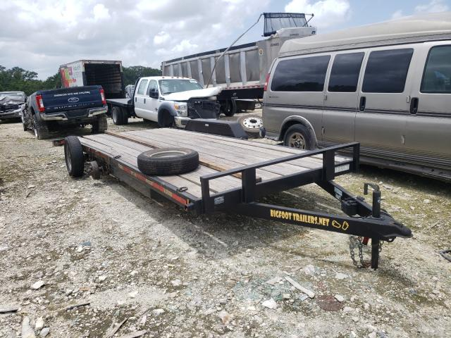 Salvage cars for sale from Copart Ocala, FL: 2018 Big Foot Trailer
