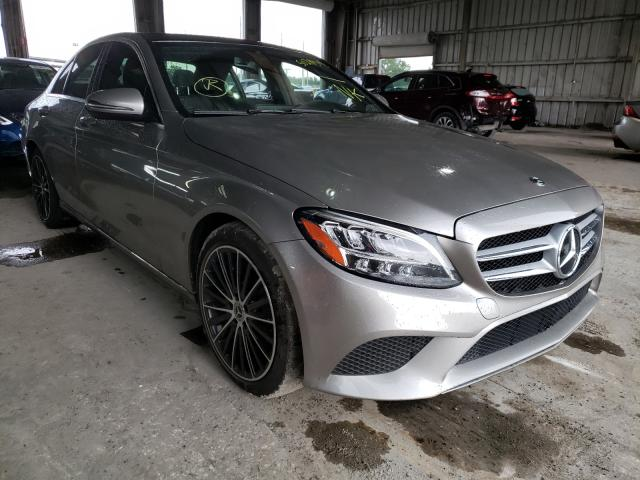 Salvage cars for sale from Copart Riverview, FL: 2019 Mercedes-Benz C300