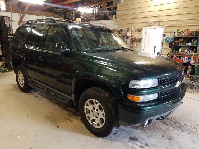 Salvage cars for sale from Copart Billings, MT: 2004 Chevrolet Tahoe K150