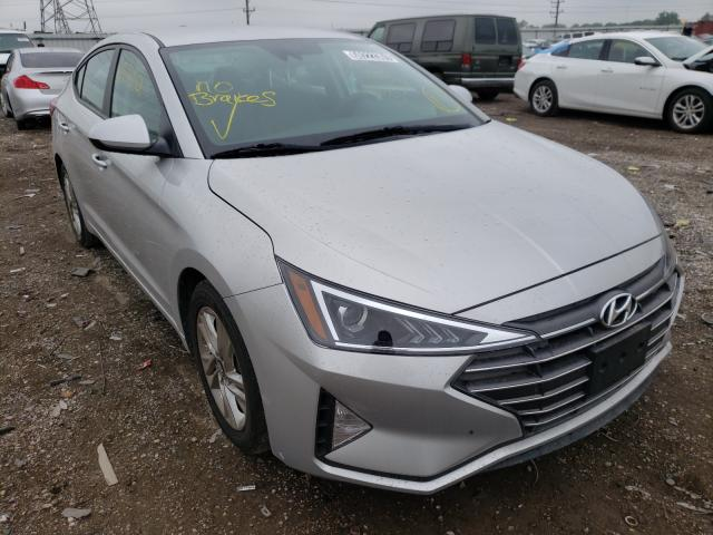 Salvage cars for sale from Copart Elgin, IL: 2019 Hyundai Elantra SE