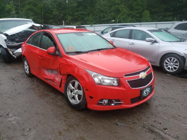Salvage cars for sale from Copart Lyman, ME: 2014 Chevrolet Cruze LT