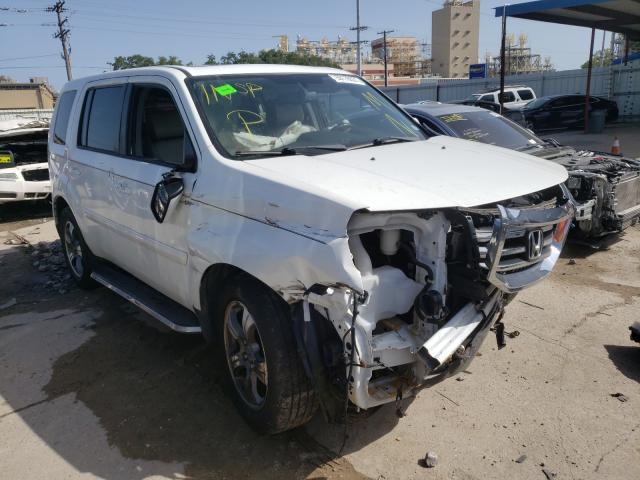 Vehiculos salvage en venta de Copart New Orleans, LA: 2015 Honda Pilot EXL