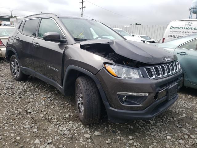 Jeep Vehiculos salvage en venta: 2017 Jeep Compass LA