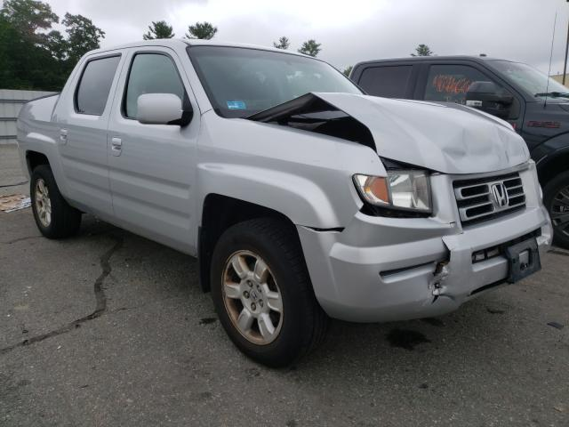 Salvage cars for sale from Copart Exeter, RI: 2007 Honda Ridgeline