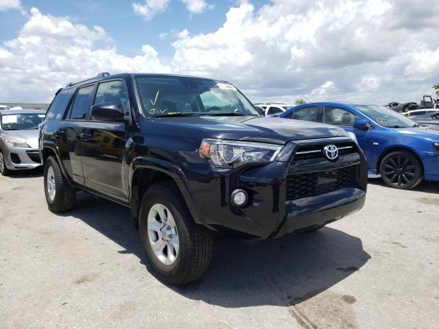 Salvage cars for sale from Copart Orlando, FL: 2020 Toyota 4runner SR