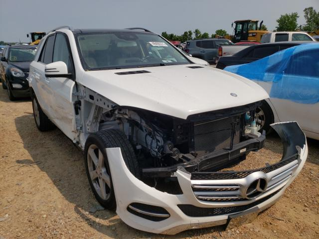 Salvage cars for sale from Copart Bridgeton, MO: 2017 Mercedes-Benz GLE 350 4M