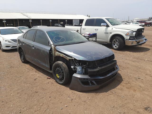 Salvage cars for sale at Phoenix, AZ auction: 2015 Volkswagen Jetta Base