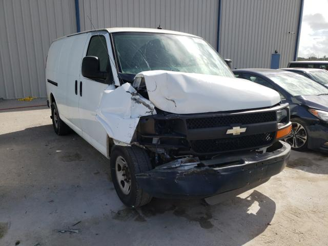Salvage cars for sale from Copart Apopka, FL: 2010 Chevrolet Express G2