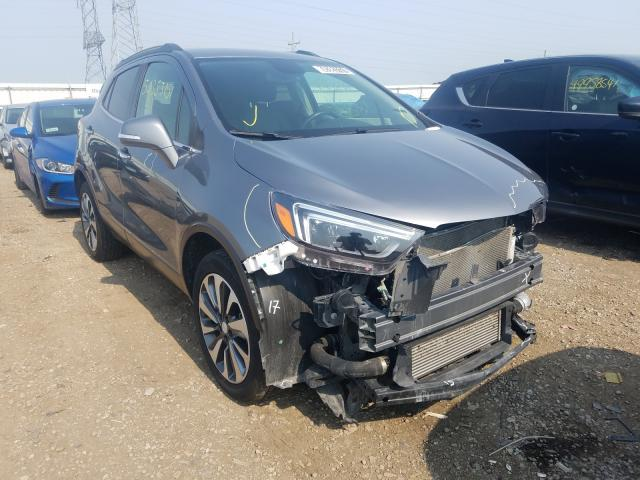 Salvage cars for sale from Copart Elgin, IL: 2019 Buick Encore ESS