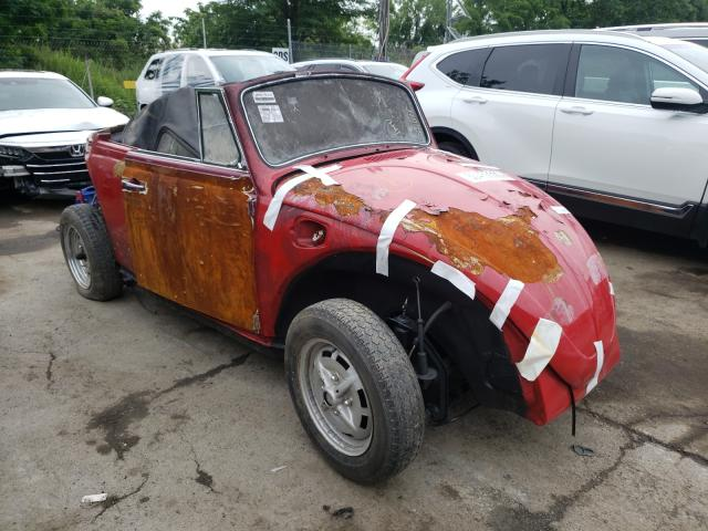 Salvage cars for sale from Copart Marlboro, NY: 1969 Volkswagen Beetle