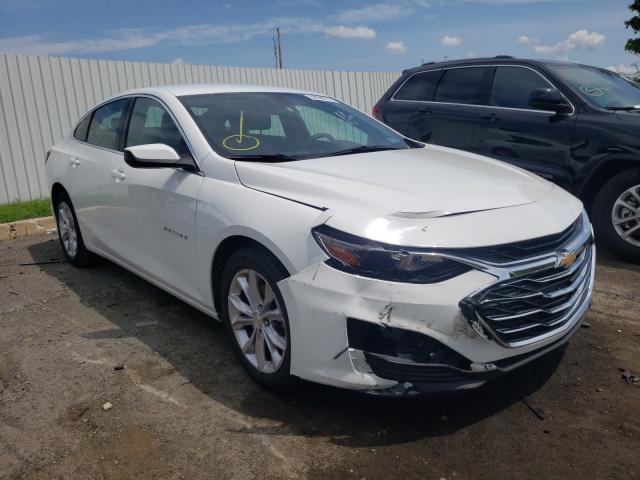 Salvage cars for sale from Copart Glassboro, NJ: 2019 Chevrolet Malibu LT