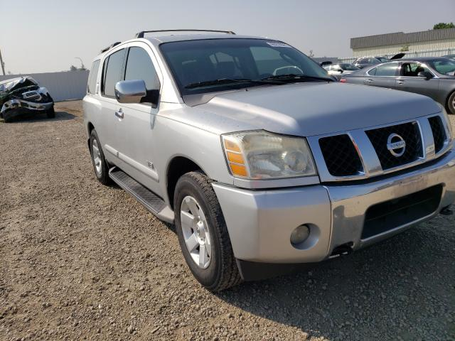 Vehiculos salvage en venta de Copart Bismarck, ND: 2006 Nissan Armada SE