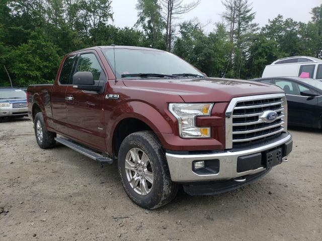 Salvage cars for sale from Copart Candia, NH: 2016 Ford F150 Super