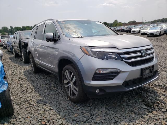 Vehiculos salvage en venta de Copart Ham Lake, MN: 2017 Honda Pilot Touring