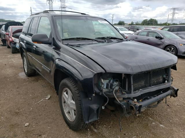Chevrolet Trailblazer salvage cars for sale: 2002 Chevrolet Trailblazer