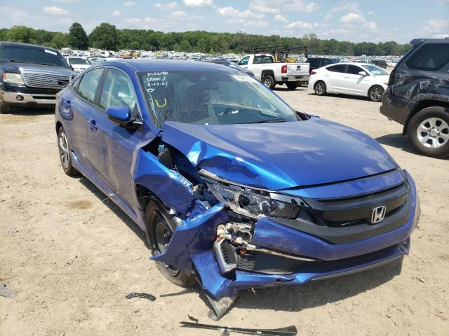 Salvage cars for sale at Conway, AR auction: 2021 Honda Civic LX